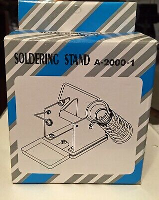 Soldering Stand With Integrated Reel Holder