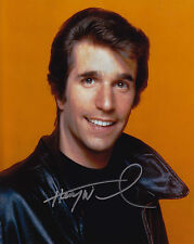 Harry Winkler Signed 8x10 Picture Actor Happy Days Fonzie Autograph Photograph