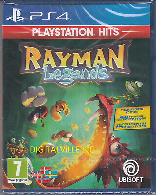 Rayman Legends PS4 PlayStation 4 Brand New Factory Sealed