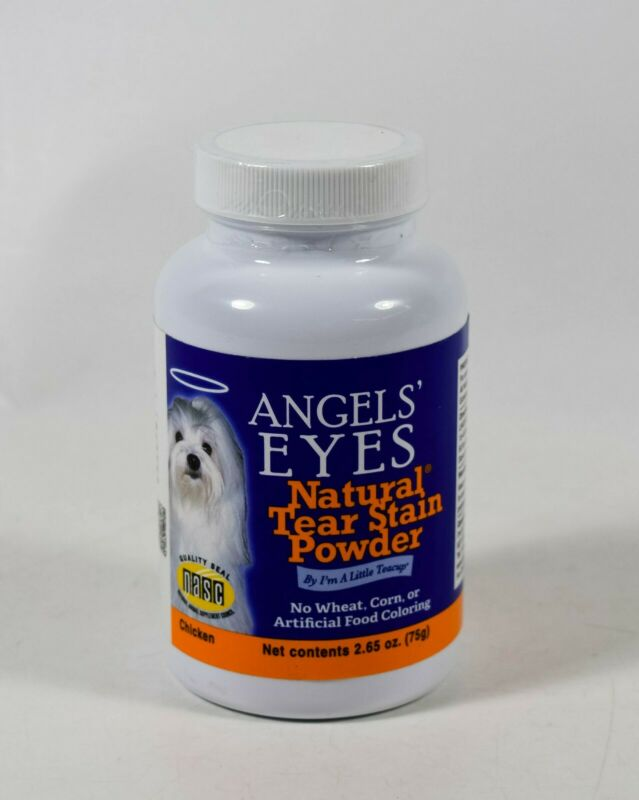 Angels Eyes NATURAL TEAR STAIN POWDER 2.65oz Remover dogs & cats CHICKEN 06/2021