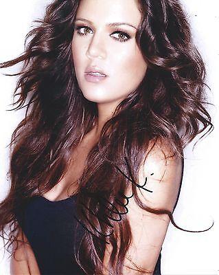 Khloe Kardashian Keeping Up With The Kardashians Hand Signed 8X10 Photo W Coa X