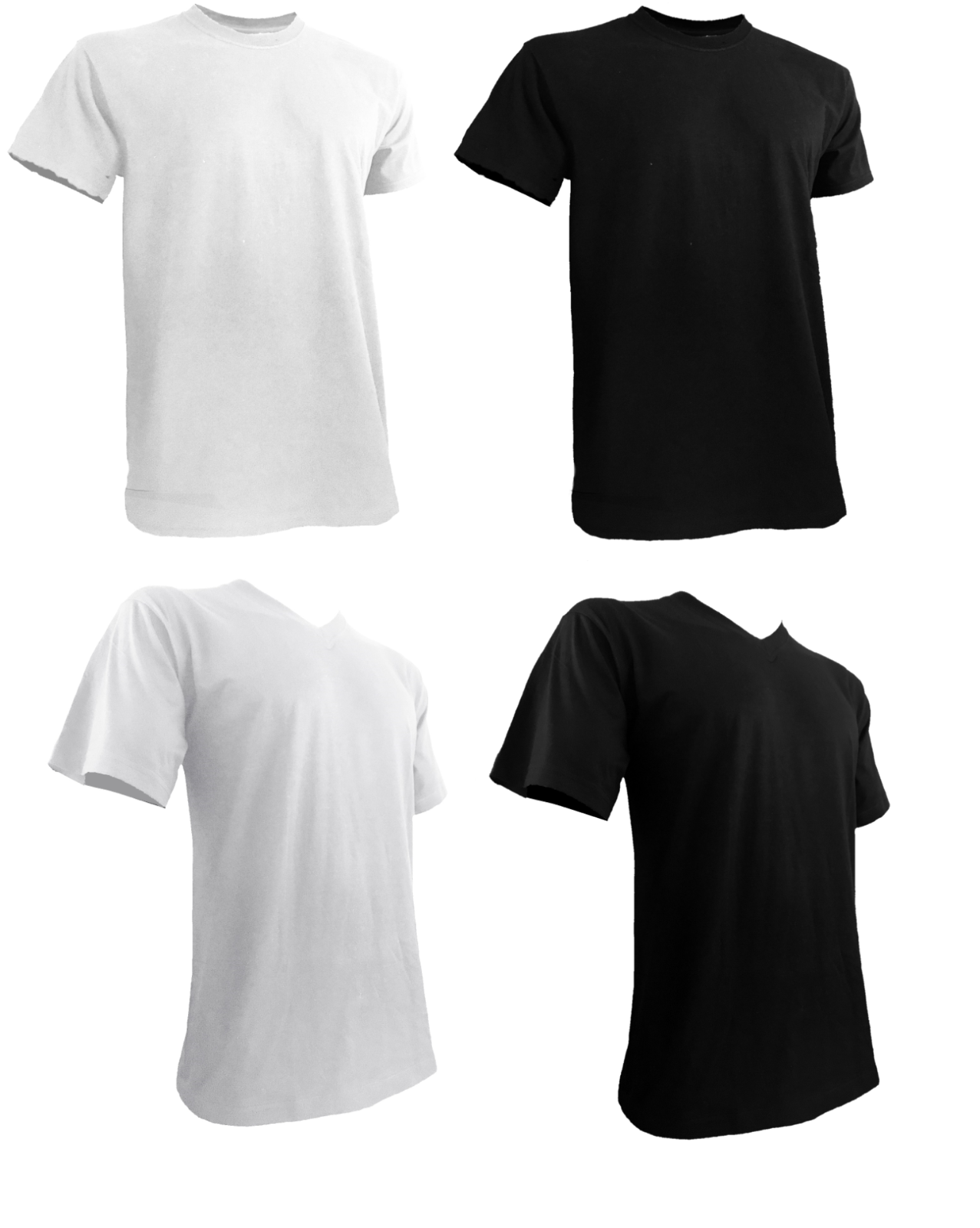 Styllion Big and Tall Mens Shirts  - ST to 4XLT - Mid Weight
