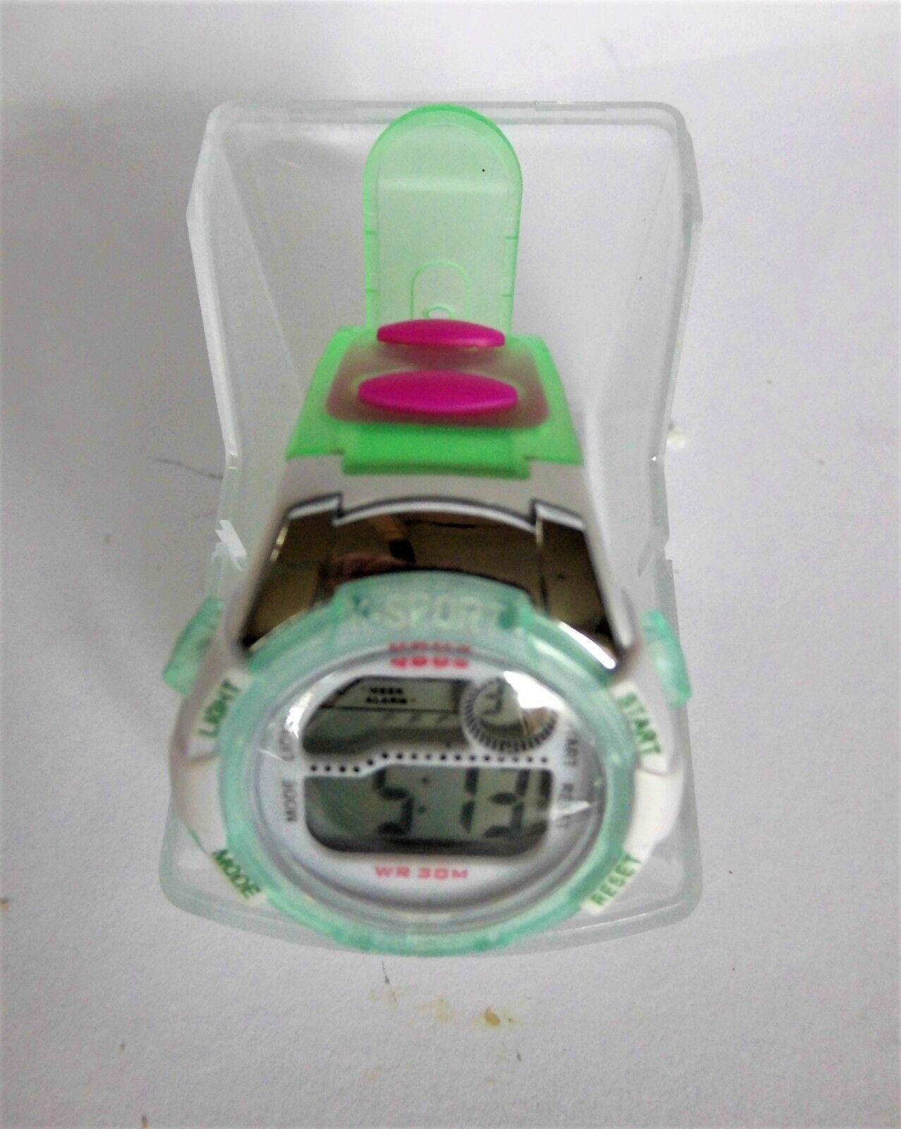 Kinderarmbanduhr Siliconarmband Stopuhr Alarm Beleuchtung digital wasserdicht