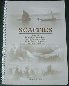 SCAFFIES FISHING BOATS Victorian Registered Buckie Scotland Scottish History