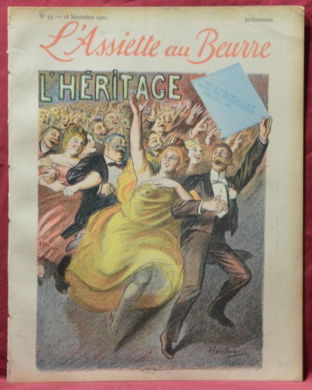 Assiette au Beurre N˚33  16 Novembre 1901 L