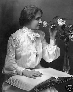 Photograph  Author Helen Keller  8x10