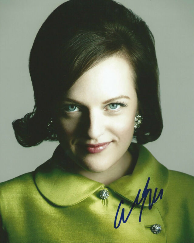 **GFA Mad Men-Peggy Olson *ELISABETH MOSS* Signed 8x10 Photo MH4 COA**