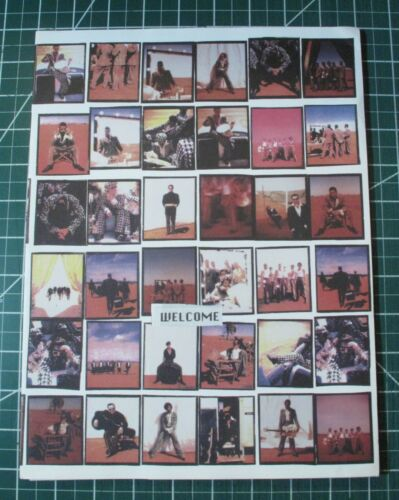 VINTAGE ORIGINAL 1992 INXS Welcome To Wherever Deluxe Promo Folder Inserts Photo