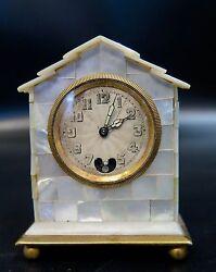 Vintage Early 20th Century Miniature Clock
