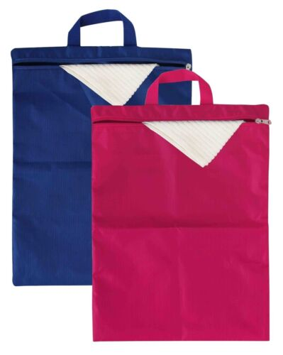 Home Basics Waterproof Travel Nylon Foldable Laundry Hamper