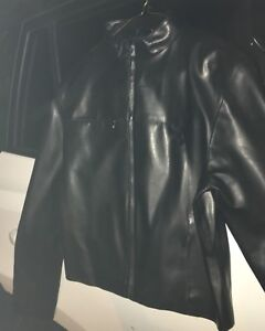 Woman's pleather jacket size small