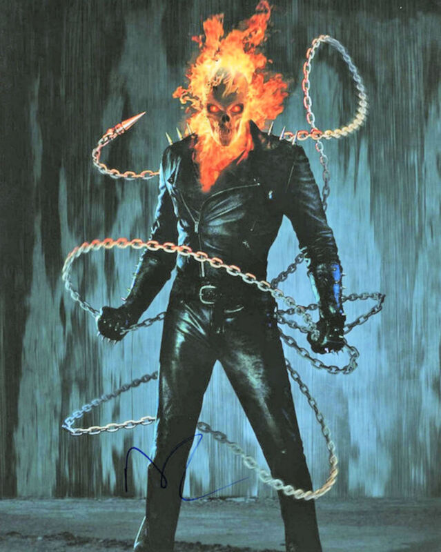 Nicolas Cage #3  8 x 10 Autograph Reprint Ghost Rider Kick-Ass National Treasure