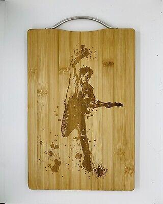 Bruce springsteen laser engraved high quality cuttingboard kitchen pop