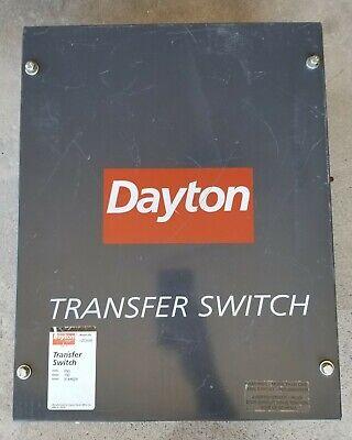 Dayton Transfer Switch 1zc00b 100 Amps 250 Volts