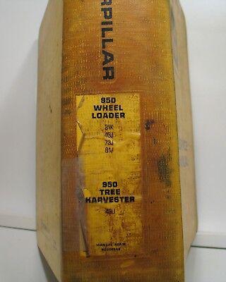 Caterpillar 950 Wheel Loader Tree Harvester Service Manual 31k 43j 73j 81j 49u