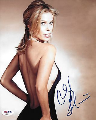 Cheryl Hines Signed Curb Your Enthusiasm 8X10 Photo Psa Dna Coa Picture Autod
