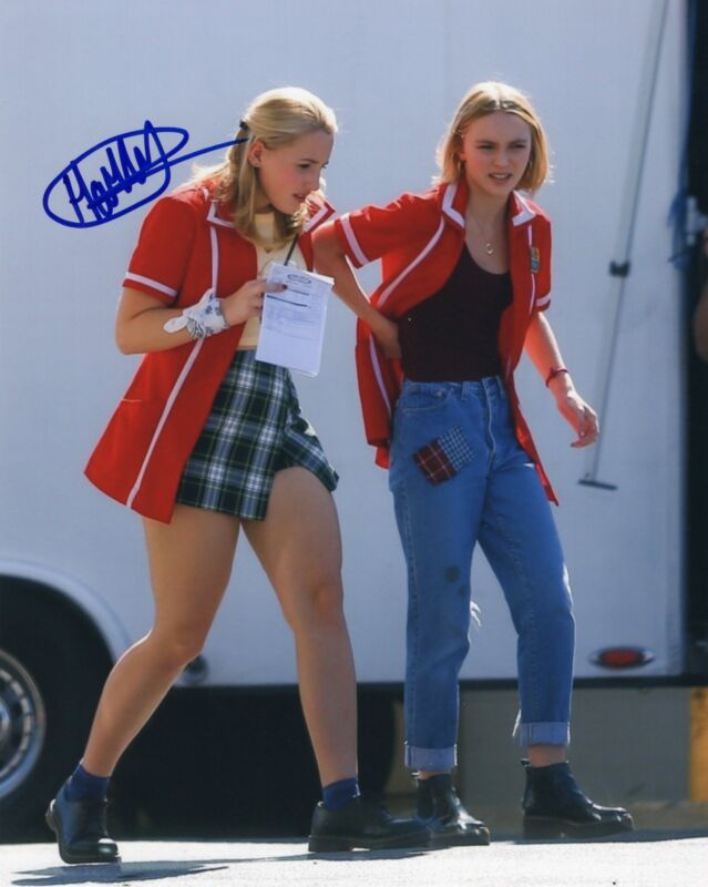 Harley Quinn Smith signed Young Hosers Movie 8x10 Photo w/COA Colleen McKenzie A