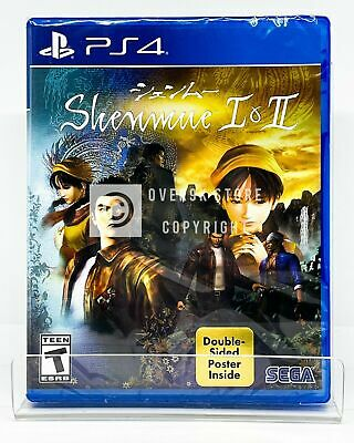 Shenmue I & II - PS4 - Brand New | Factory Sealed