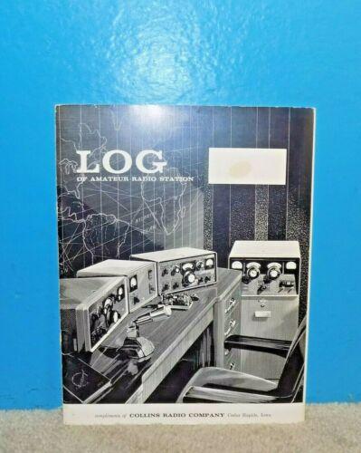 OEM Collins Radio Co. Log Book Unused/Blank Free Shipping