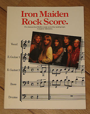 Iron Maiden Rock Score - Off The Record