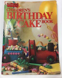 Womens Weekly Birthday Cake Book Gumtree Australia Free Local - Womens weekly childrens birthday cake cookbook