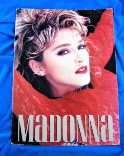 MADONNA VIRGIN TOUR TOUR PROGRAM BOOK 1985