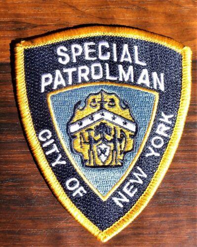 GEMSCO NOS NYPD Patch POLICE SPECIAL PATROLMAN NYC NY Original 25+ year - V2m