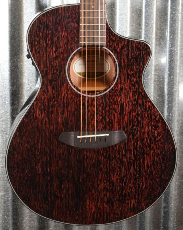 Breedlove Discovery Concert CE Black Widow Acoustic Electric Guitar Blem #0922