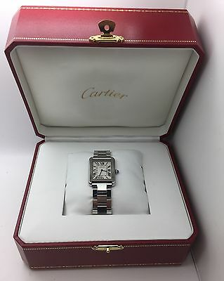 Cartier Tank Solo Ladies Stainless Steel Watch w5200013 Women's Fashion Designer