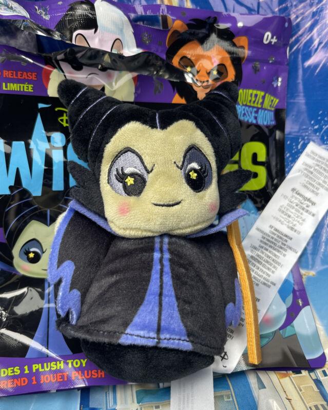 Disney Parks Villains Wishables Series Maleficent Small Plush