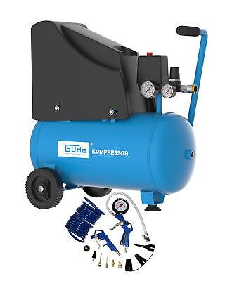 Güde Kompressor 220/8/24 13 tlg 1,5 kW 24 L 8 bar Ölfrei Druckluftkompressor