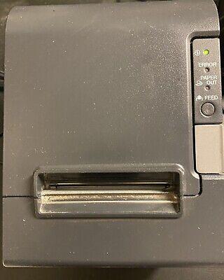 Epson Tm-t88iv Pos Usb Thermal Receipt Printer M129h Wps Usb Cords