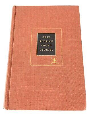 Best Russian Short Stories - Random House Modern Library - 1925 - HC - VG+