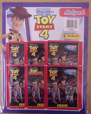 Disney Pixar Toy Story 4 ~ Panini Sticker & Game Card Collection ~ Multipack (Toy Story Sticker)