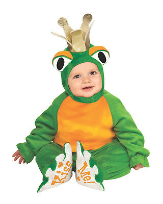 Frog Prince Infant Costume Dress Up Halloween Infant 6-12 months Cuddly Jungle