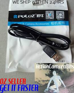 Mini USB Sync data Cable GoPro Hero 4 3 charger cord Charging