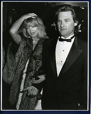 1984 Original Photo Kurt Russell And Goldie Hawn Type 1 Photo