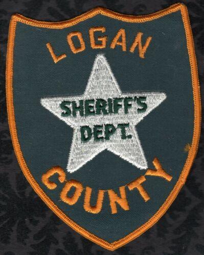 👀😜😆👍  Logan County Nebraska Sheriff Shoulder Patch