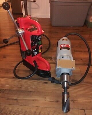 Milwaukee Electro-magnetic Drill Press Base 34 Motor 4202 4262-1