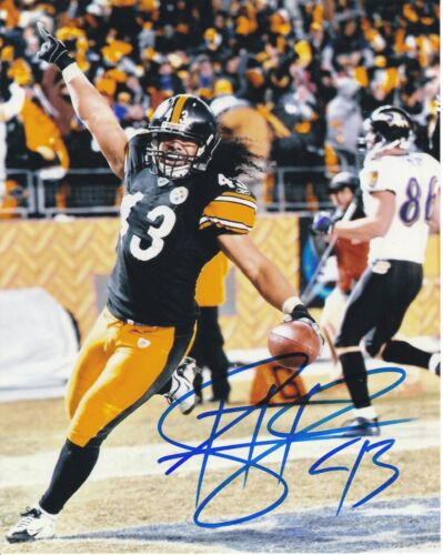 Troy Polamalu Pittsburgh Steelers Autographed 8x10 Photograph Rp