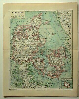 Historische Landkarte Österreich Ungarn Ethnographie Karte Lithographie 1906