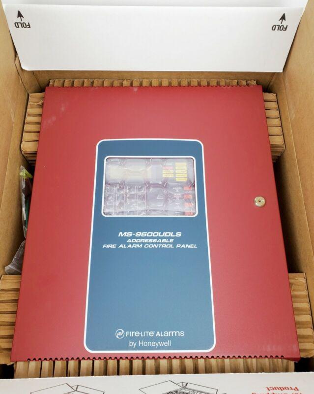Fire-Lite MS-9600UDLS Addressable Fire Control Panel, New!