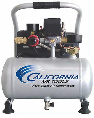 California Air Tools 1p1060s Light Quiet Air Compressor-used