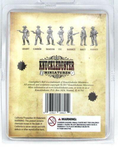 Knuckleduster KDM-11118 The Spectacular Seven (Gunfighter