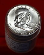 Franklin Half Dollar Uncirculated Roll