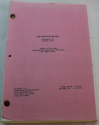 One Night With The King   2004 Movie Script   Bio Of Esther  The Queen Of Persia