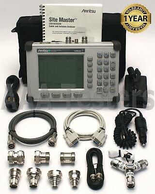 Anritsu Sitemaster S332d Cable Antenna Spectrum Analyzer S332