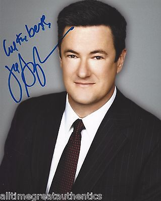 Morning Joe Tv Host Joe Scarborough Signed 8X10 Photo W Coa C Msnbc Congressman