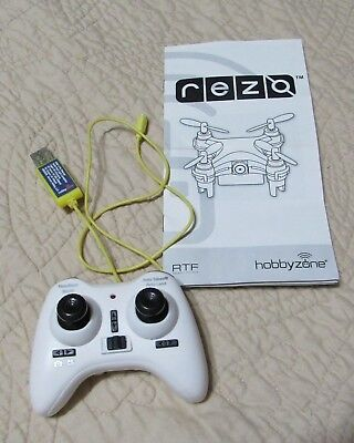 Hobbyzone HBZ9200 Rezo Micro Quadcopter Drone Controller & Yellow Charging Cable