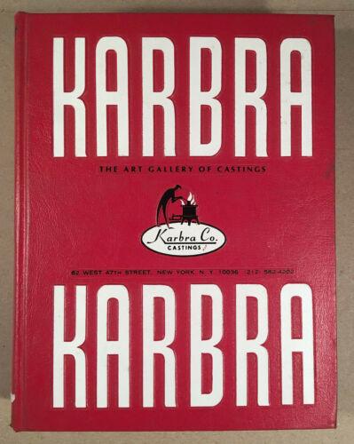 1978 Huge Jewelers Wholesale Catalog KARBRA THE ART GALLERY OF CASTINGS 784 Pgs